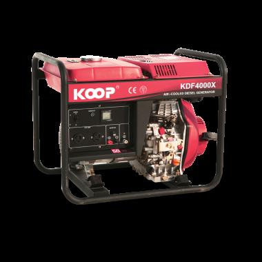 Máy Phát điện Koop KDF4000X/XE, Máy phát điện Koop KDF4000X/XE