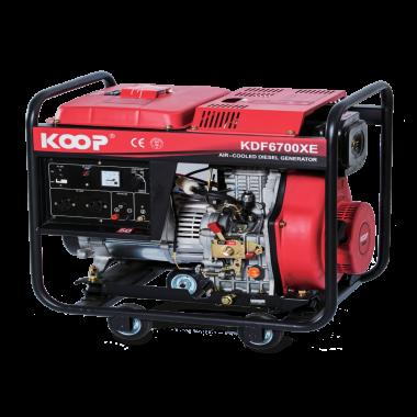 Máy Phát điện Koop KDF6700X/XE(-3), Máy phát điện Koop KDF6700X/XE(-3)