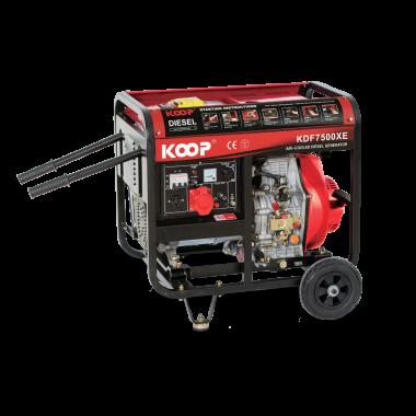 Máy Phát điện Koop KDF7500X/XE(-3), Máy phát điện Koop KDF7500X/XE(-3)