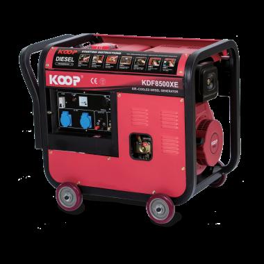 Máy Phát điện Koop KDF8500X/XE(-3), Máy phát điện Koop KDF8500X/XE(-3)