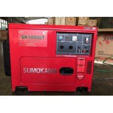 Máy phát điện chạy dầu Sumokama SK10000T (7,5KVA) - Có cách âm