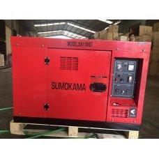 Máy phát điện chạy dầu Sumokama SK11000T (8KVA) - Có cách âm