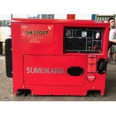 Máy phát điện chạy dầu Sumokama SK3700T (3KVA) - Có cách âm
