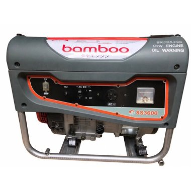 Máy phát điện Bamboo 3600C ( 2,5Kw - Giật nổ), Máy phát điện Bamboo Bamboo 3600C
