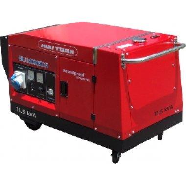 Máy phát điện Honda HG16000TDX giảm thanh 3 pha, Máy phát điện  Hữu Toàn Honda HG16000TDX giảm thanh 3 pha