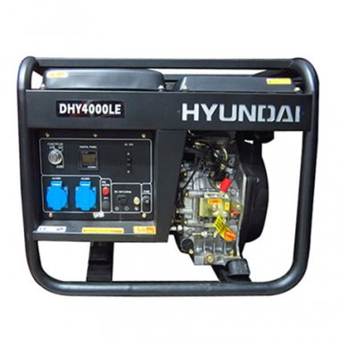 Máy phát điện HYUNDAI DHY 4000LE Diesel, Máy phát điện Hyundai HYUNDAI DHY 4000LE Diesel