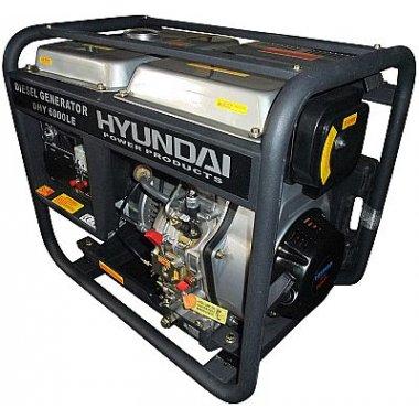 Máy phát điện HYUNDAI DHY 6000LE Diesel, Máy phát điện Hyundai HYUNDAI DHY 6000LE Diesel