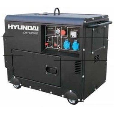Máy phát điện HYUNDAI DHY 6000SE-3 Diesel 3 fa, Máy phát điện Hyundai HYUNDAI DHY 6000SE-3 Diesel 3 fa