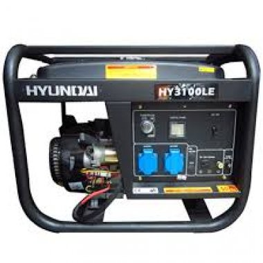 Máy phát điện xăng HYUNDAI HY 3100LE (2.5Kw ), Máy phát điện Hyundai HYUNDAI HY 3100LE (2.5Kw )