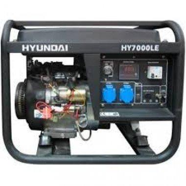 Máy phát điện xăng HYUNDAI HY 7000LE (5 kw), Máy phát điện Hyundai HYUNDAI HY 7000LE (5 kw)