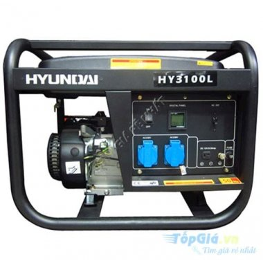 Máy phát điện xăng HYUNDAI HY3100L (2.5Kw giật tay), Máy phát điện Hyundai HYUNDAI HY3100L (2.5Kw giật tay)