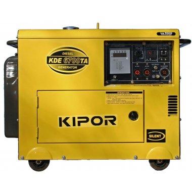 Máy phát điện diesel Kipor KDE6700TA, Máy phát điện Kipor Kipor KDE6700TA