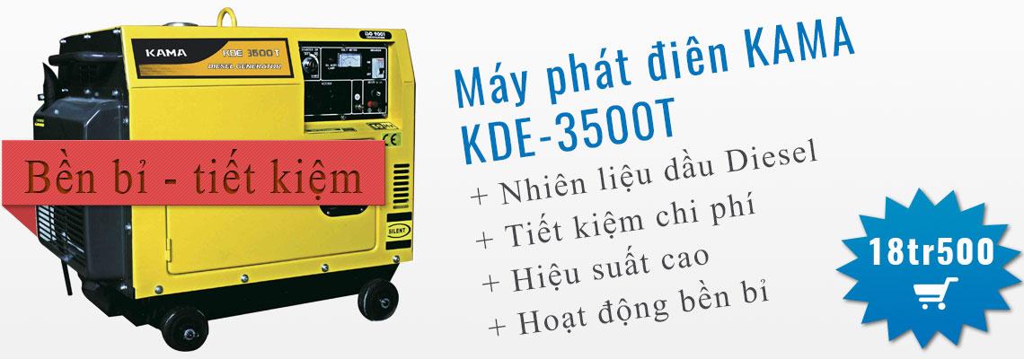 Máy phát điện Diesel KAMA KDE-3500T